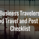 ground travel and post travel