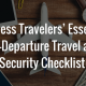 travel and security checklist